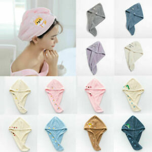 Dry Hair Cap Dry Hair Towel Absorbent Shower Cap Coral Fleece Quick-drying Hats