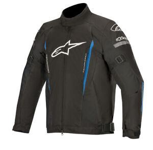 Alpinestars Gunner V2 Waterproof Motorbike Motorcycle Textile Jacket Black/Blue