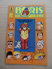 Boris The Bear 12 . Dark Horse 1987 - FN