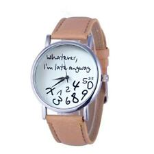 Whatever I am Late Anyway Ladies Casual Quartz Watch