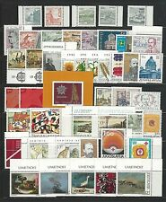 Yugoslavia Sc#1488/RA68,  1981 Year Collection of 43 Stamps +1 S/S Mint NH w/OG