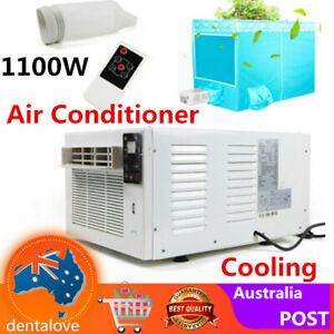 1100W Window Wall Box Cooling AC Air Conditioner Cooler Remote control Cooling