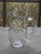 """WATERFORD IRISH CRYSTAL 7 3/8"""" Water Pitcher  24 OZ. Giftware Pattern NEW"""