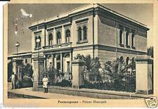 cm 069 1930 PONTECAGNANO (Salerno) Palazzo Municipale-viaggiata Ed. Dalla Nogara