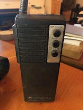 VINTAGE MOTOROLA HANDHELD FIRE RADIO