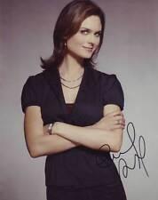 Emily Deschanel AUTHENTIC Autographed Photo COA SHA #14155
