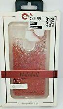 Case Mate Waterfall Glitter Phone Case Google Pixel 2 XL NIB Pink Shake It Up