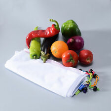2Pcs Eco Friendly Reusable Mesh Produce Bag Superior Double-Stitched Bag 30X20CM