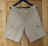 Lacoste Sport Men's Cargo Shorts - Beige - Size US 36 - Brand New With Tags