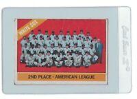 CHICAGO WHITE SOX 1966 Topps Team MLB Baseball Trading CARD #426 Skowron Buford