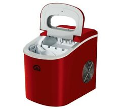 Igloo Compact Portable Countertop Ice Cube Maker Machine Red New