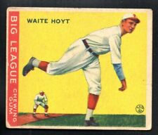 WAITE HOYT ROOKIE pirates 1933 GOUDEY #60