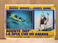AGENTE 007 LA SPIA CHE MI AMAVA fotobusta poster The Spy Who Loved Me Camel CU20