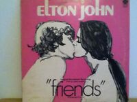 ELTON  JOHN         LP    FRIENDS    / ORIGINAL   PICTURE    SOUNDTRACK
