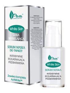 AVA White Skin serum maska do twarzy przebarwienia/Serum-intensive whitenig mask
