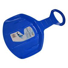 Hiver essentials ronde solo mini coulissant luge plastique neige planeur-bleu