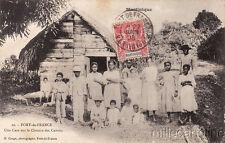 * MARTINIQUE - Fort de France - Une Case sur le Chemin des Cabrits 1906