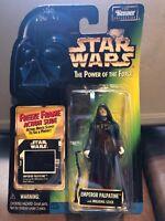 1997 Star Wars POTF Emperor Palpatine Freeze Frame Action Slide Action Figure