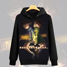 Game Undertale Chara/Frisk Hoodie Jacket Pullover Coat Unisex Sweatshirt#EB-7