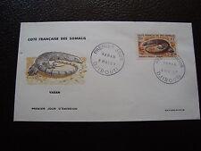 COTE DES SOMALIS - enveloppe 1er jour 8/5/1967 (B12)