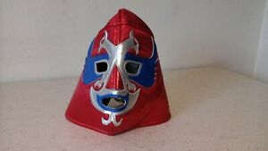 Lucha Libre MASCARA LUCHA Pro Grade Adulto Metalic RED