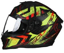 CASCO MOTO INTEGRALE SCORPION EXO 1400 AIR PICTA BLACK YELLOW MATT OPACO TG L
