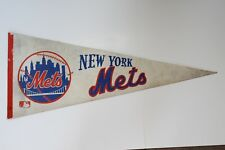 Vintage 1969 New York Mets Collectible Sports Full Size Baseball Pennant