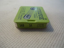NEW BOX OF 5 LITTELFUSE 3AB 3A 323 FUSE