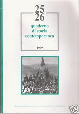 ALESSANDRIA_ QUADERNO DI STORIA CONTEMPORANEA_ 1999