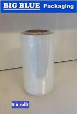 6 x Packaging Bundling Film Stretch Wrap wrapping 250 wide x 250 mtr roll rolls