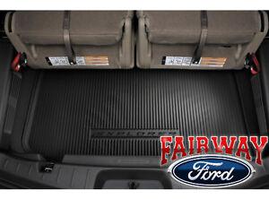 11 thru 19 Explorer OEM Ford 3rd Row Black Cargo Area Protector Mat Liner NEW