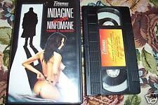 [1954] Indagine su una ninfomane (1970) VHS rara