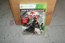 Dead Island Game of the Year Edition Xbox 360 3 DLC Bloodbath Ryder White Ripper