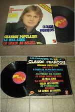 """@ CLAUDE FRANCOIS 33 TOURS LP 12 """" FRANCE LES CHANSONS EN OR"""