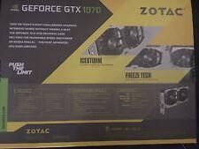 ZOTAC GeForce GTX 1070 Mini 8GB GDDR5 VR Ready Super Compact Gaming GPU