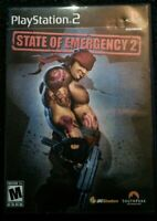 State of Emergency 2 Playstation 2 Ps2 Complete Tested Very Rare Southpeak