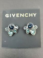 Givenchy Large Swarovski Crystal Stud Earrings Retail Price $45 - Free Shipping