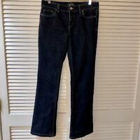 White House Black Market Size 6R Bootcut Black Jeans