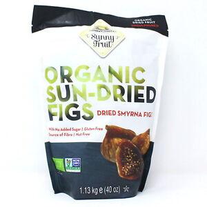 Sunny Fruit Organic Sun-Dried Smyrna Figs - 1.13kg