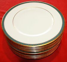 "Lenox Patriot Salad Plate 8 3/8"" - Set of 12 - MINT"