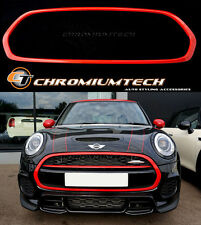 MK3 F55 F56 F57 MINI Cooper/ONE/S/JCW Front Grill Surround RED Hatch/Convertible