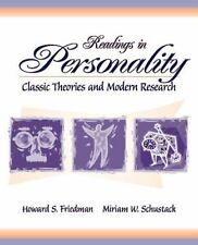 Readings in Personality: Classic Theories and Modern Research Paperback Friedman