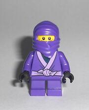 LEGO Ninjago - Lil Nelson - Minifig Figur Lila Ninja Purple Little Cole RX 70589