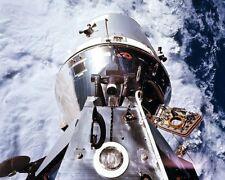 Apollo 9 Kommando Modul und Lunar Angekoppelt 8x10 Silber Halogen Fotodruck