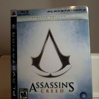 Assassin's Creed II, III-- Limited Edition Steelbook ( PS3 Playstation 3 Sony )