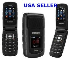 USPS!UNLOCKED AT&T Samsung Rugby 2 II A847 3G GSM Rugged Flip Camera Phone Black