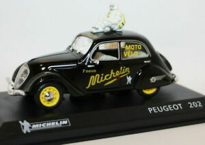Altaya 1/43 Scale Diecast - Peugeot 202 - Michelin Livery