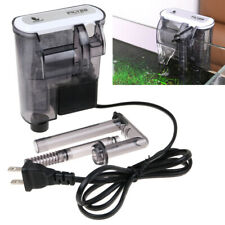 External Hang On Filter Surface Skimmer Waterfall Mini Aquarium Fish Tank 120V U