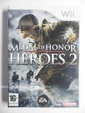 jeu MEDAL OF HONOR HEROES 2 pour xbox 360 game spiel juego gioco francais X360