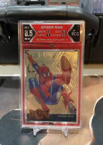 1995 MARVEL METAL GOLD BLASTER SPIDER-MAN RCG 8.5